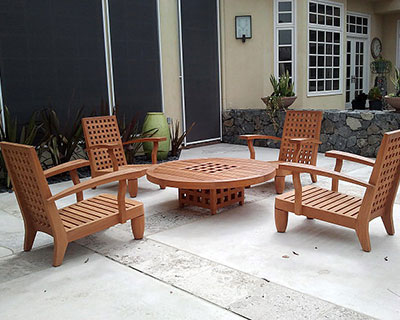 Teak Furniture Restoration Los